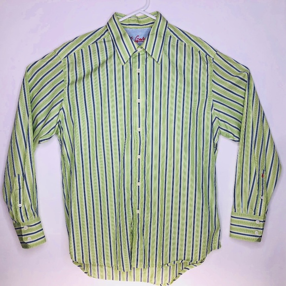 71e9e482631 Robert Graham Striped Button Up Dress Shirt Large.  M 5ab44fdf077b97c5c6e9c594